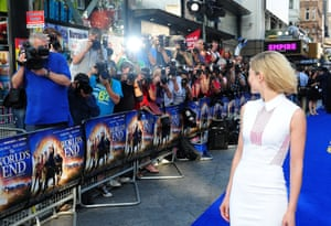 Film premiere The World's End