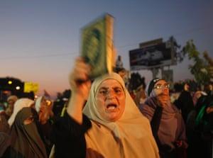 supporters of former president morsi
