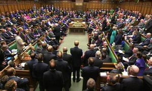 MPs in the House of Commons