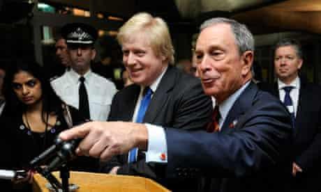 Boris Johnson and Mayor Bloomberg