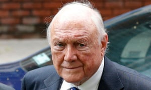 Former BBC broadcaster Stuart Hall at Preston crown court