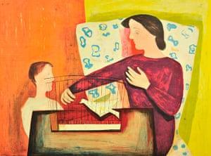 Lyons: William Scott, The Bird Cage, 1947