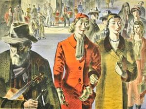 Lyons: Barnett Freedman, People, 1947