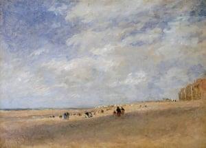Sea picture: Rhyl Sands circa 1854