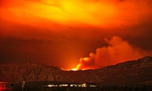 wildfires in Las Vegas
