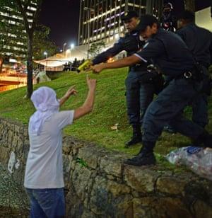 demonstrations in Rio