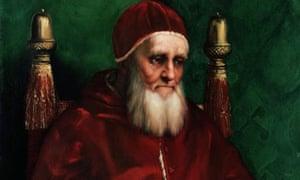 pope julius II raphael