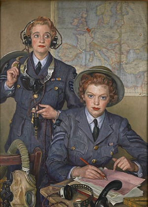Laura Knight: Corporal Elspeth Henderson and Sergeant Helen Turner