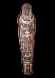 Mummy case and portrait of Artemidorus