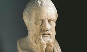 Bust of Herodotus of Halicarnassus (circa 484-425 BC)