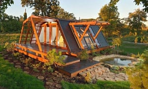 Eco houses around the world guardian sustainable for Building your own home in colorado