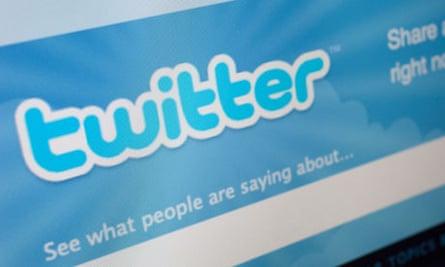 A computer screen showing Twitter