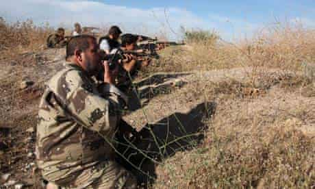 Syrian Rebels Battle For Aleppo