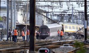 train crash in France