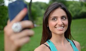 Self-portrait selfie