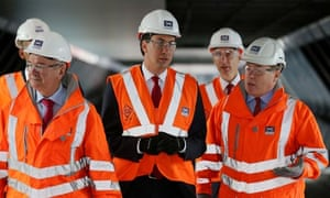 Miliband visits Crossrail