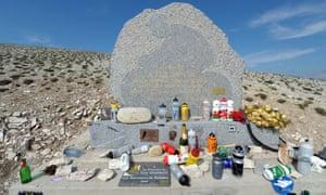 The Tom Simpson memorial