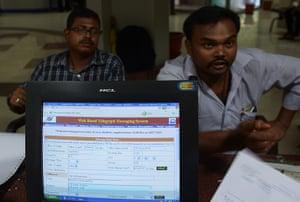 Indian telegraph closes: Central Telegraph Office in Kolkata