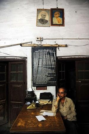 Indian telegraph closes: Targhar telegraph office in Allahabad