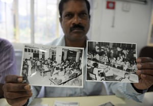 Indian telegraph closes: photographs of Hyderabad telegraph office taken in 1980