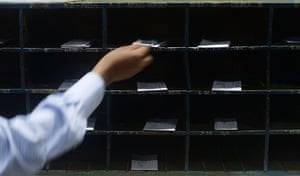 Indian telegraph closes: Central Telegraph Office in Mumbai