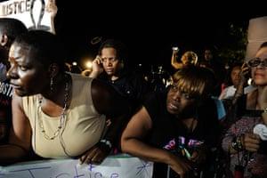 Zimmerman not guilty: Demonstrators react to the not guilty verdict
