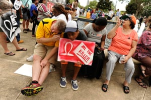 Zimmerman not guilty: Demonstrators outside the Seminole County Criminal Justice Center