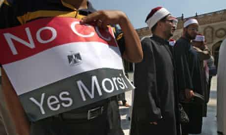 Egypt pro-Muslim Brotherhood protest