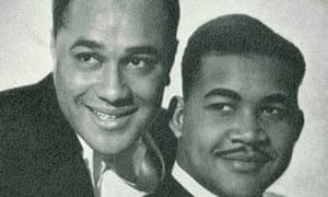 Chester Harriott, right, and Vic Evans