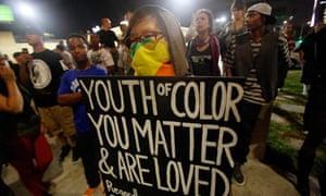 Trayvon Martin protesters