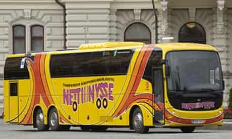 Netti Nysse bus
