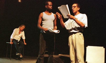 mankel producing a play in Maputo