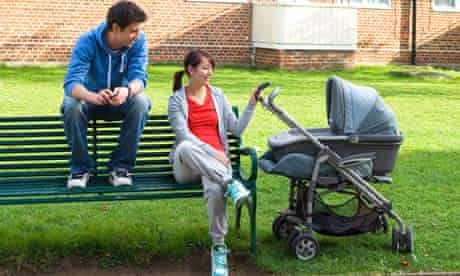 young families and teenage pregnancy