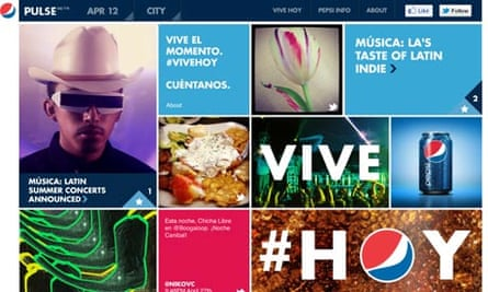 Pepsi's social, content-driven marketing campaign – Pulse.