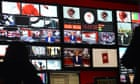 Inside the BBC's newsroom at Broadcasting House -marketing success requires brands to emulate the a