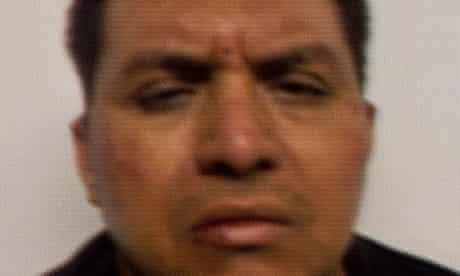 Miguel Angel Treviño Morales, head of the Zetas drug cartel in Mexico, in a police photograph