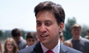 Ed Miliband Hove school visit