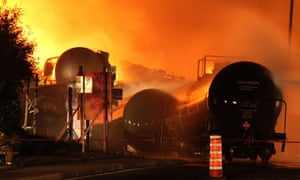 Train crash in Lac Megantic, Quebec, Canada