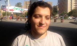 Jobless gradudate Salah el Din Ashraf for Patrick Kingsley piece