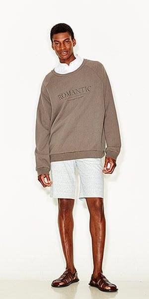 lineup shorts: Mens short suits