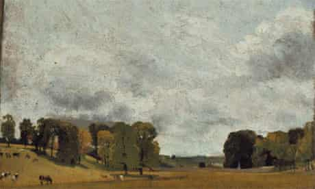 John Constable: View at Epsom
