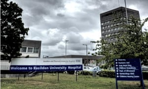 Basildon and Thurrock university hospital, in Essex.