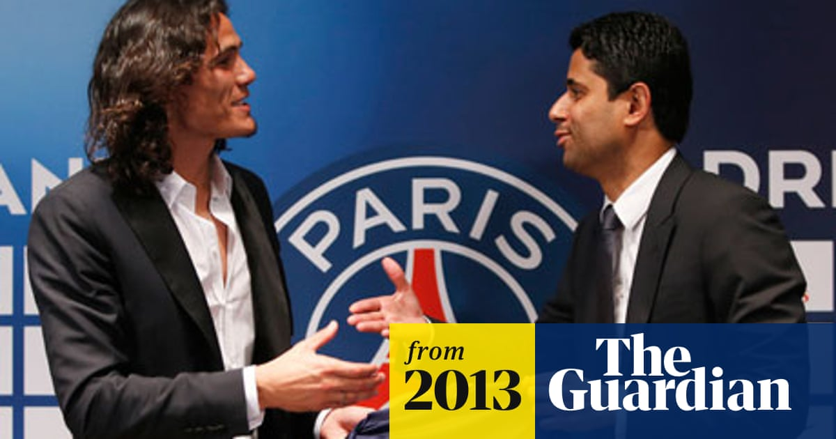 Edinson Cavani Joins Paris Saint Germain For French Club Record Fee Paris Saint Germain The Guardian