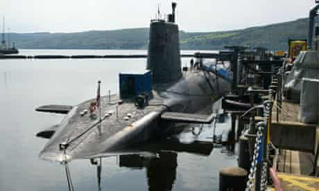 Trident missile nuclear submarine, 2002