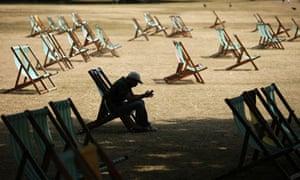 Heatwave in Hyde Park