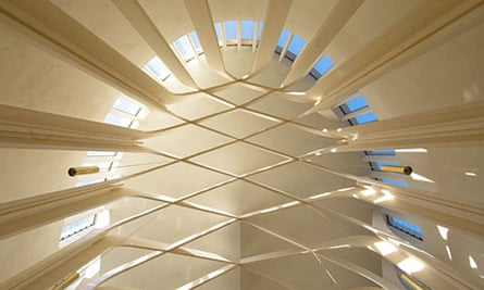 Bishop Edward King Chapel, by Niall McLaughlin Architects, shortlisted for the 2013 RIBA Stirling prize