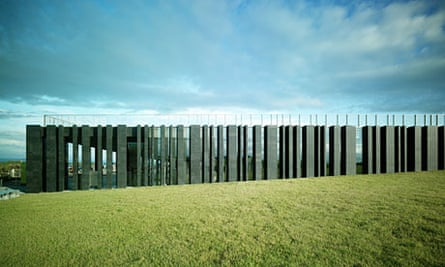 Giant's Causeway Visitor Centre by Heneghan Peng architects, shortlisted for the 2013 RIBA Stirling prize