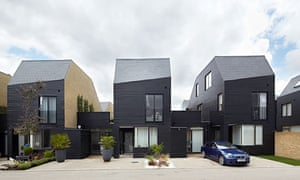 Newhall Be courtyard houses, by Alison Brooks Architects, shortlisted for the 2013 RIBA Stirling prize