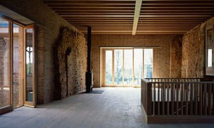 Astley Castle Landmark Trust, by Witherford Watson Mann Architects, shortlisted for the 2013 RIBA Stirling prize