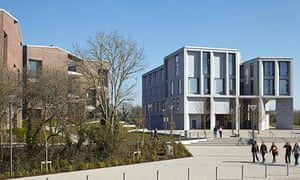 University of Limerick Medical School and student housing, by Grafton Architects, shortlisted for the 2013 RIBA Stirling prize